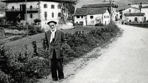 Pío Baroja en Vera de Bidasoa